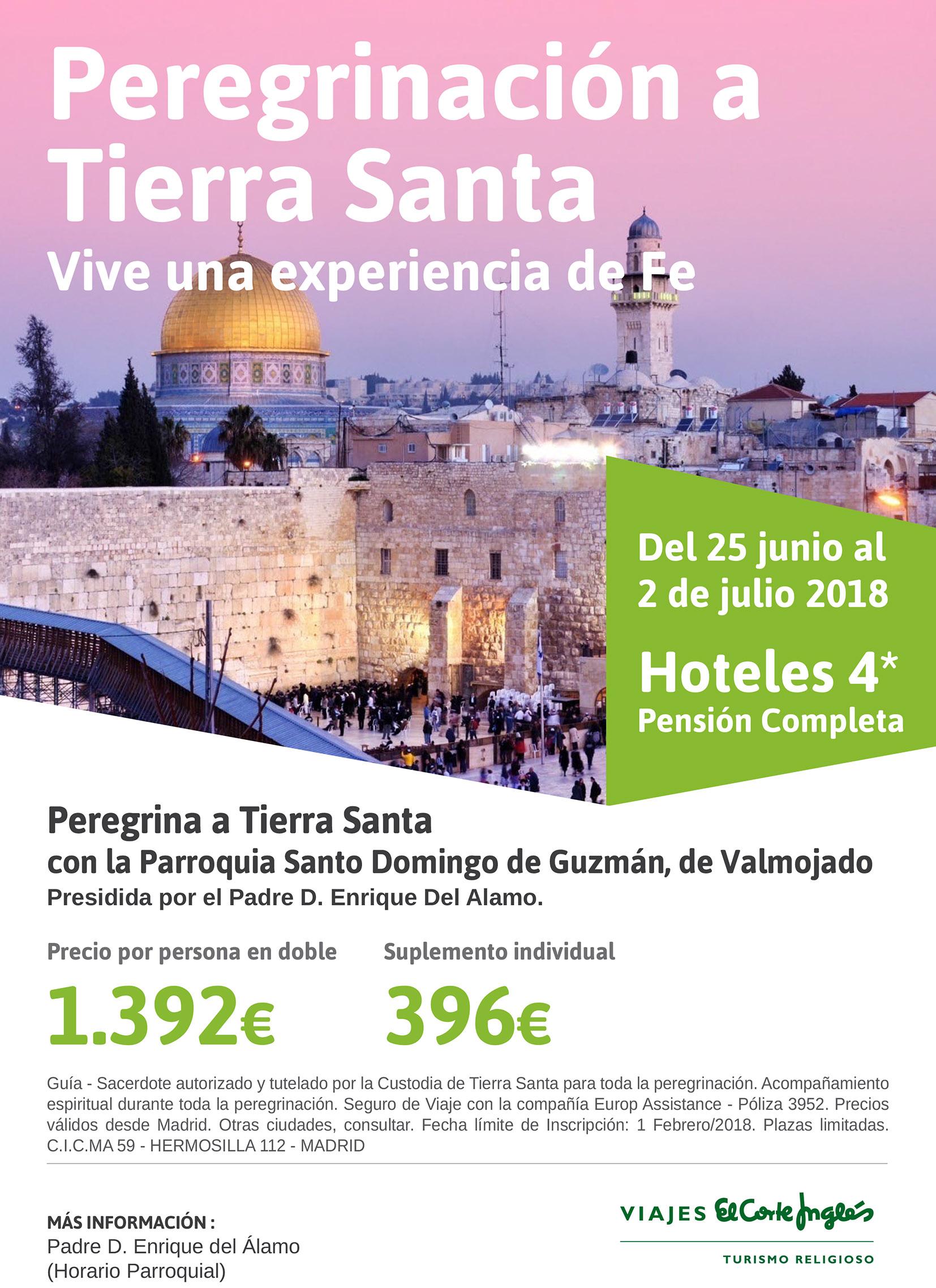 Siesta Herencia Hospital Viajes El Corte Ingles Tierra Santa Clasificación Converger Unir